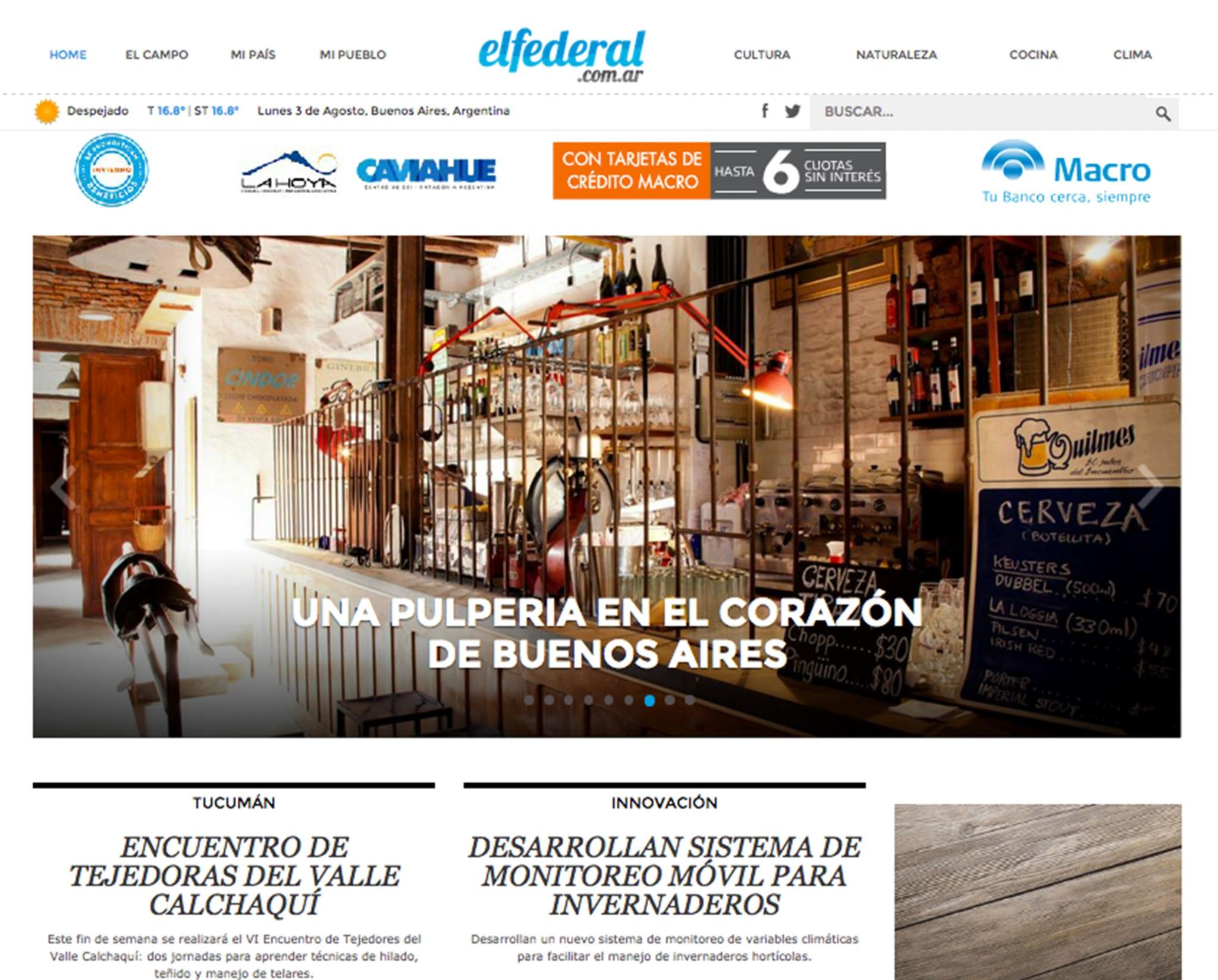 Una pulpería en el corazón de Buenos Aires | Pulpería Quilapán