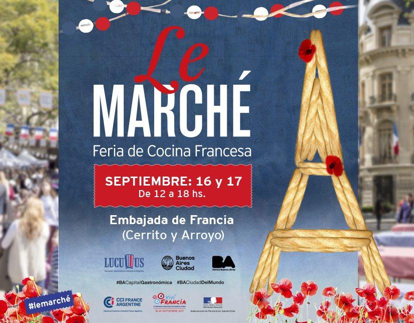 Le Marché al embajada de Francia con Lucullus @ Embajada de Francia | Buenos Aires | Argentina