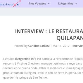 "<span class=""live-editor-title live-editor-title-27680"" data-post-id=""27680"" data-post-date=""2017-11-19 23:38:18"">La restaurant de la pulpería Quilapán con Candice Barkatz de Equinoxe</span>"