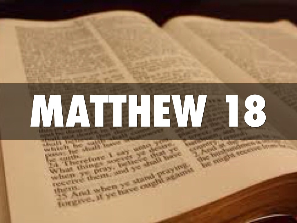 Image result for matthew 18