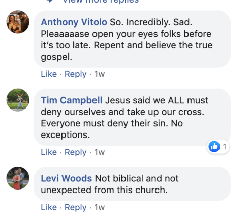 Bethel Church Responds to Criticism Over Pro-Gay Post