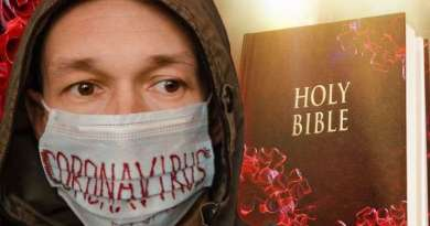 Charisma News: 'Pandemic Masks Speak Prophetically of Attempt to Silence Christians'