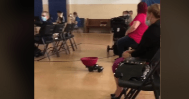 Video: Church Uses Tiny Remote Controlled Truck to Gather Tithes  During Pandemic