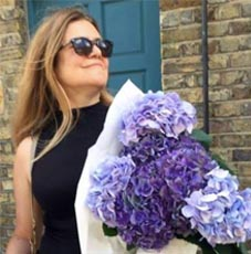 mel-with-flowers