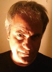 Eerie photo of author Eric Del Carlo