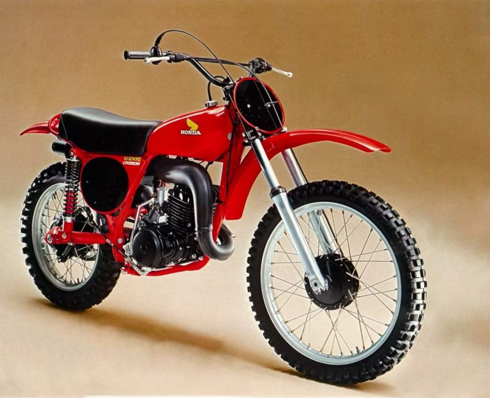 medium resolution of by 1976 the cr250 was already falling far behind its 250 competition major suspension upgraded on the rm and yz left the short legged cr in their wake