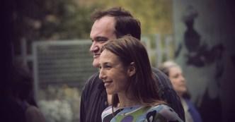 Quentin Tarantino et Elsa Zylberstein