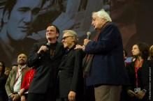 Quentin Tarantino, Harvey Keitel et Bertrand Tavernier (crédits photo : Nicolas Dormont - www.dnicolas.fr)