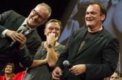 Thierry Frémaux, Tim Roth et Quentin Tarantino (crédits photo : Nicolas Dormont - www.dnicolas.fr)