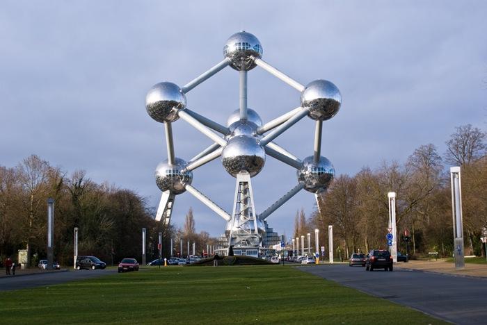 7. Atomium (Brussels, Belgium)