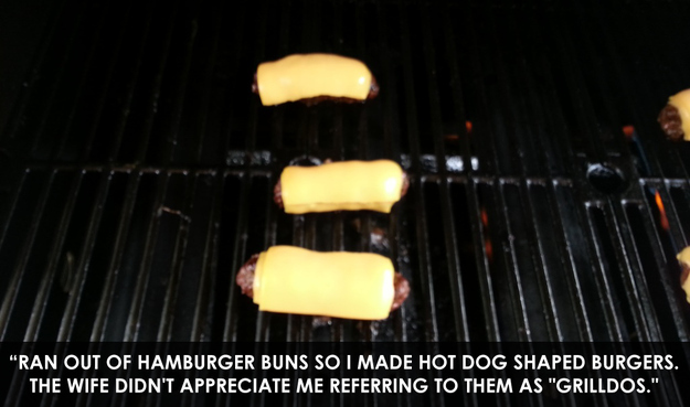 """The brilliant mind that thought up """"grilldos"""":"""
