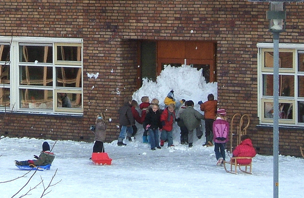 These kids who didn't get the snow day they deserved:
