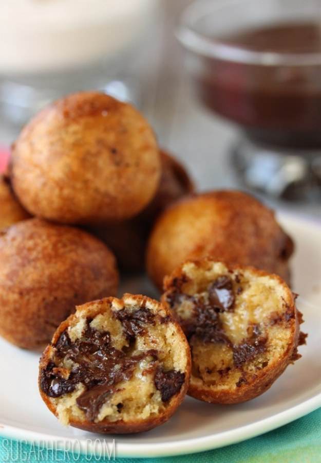 Deep-Fried Chocolate Chip Cookie Dough