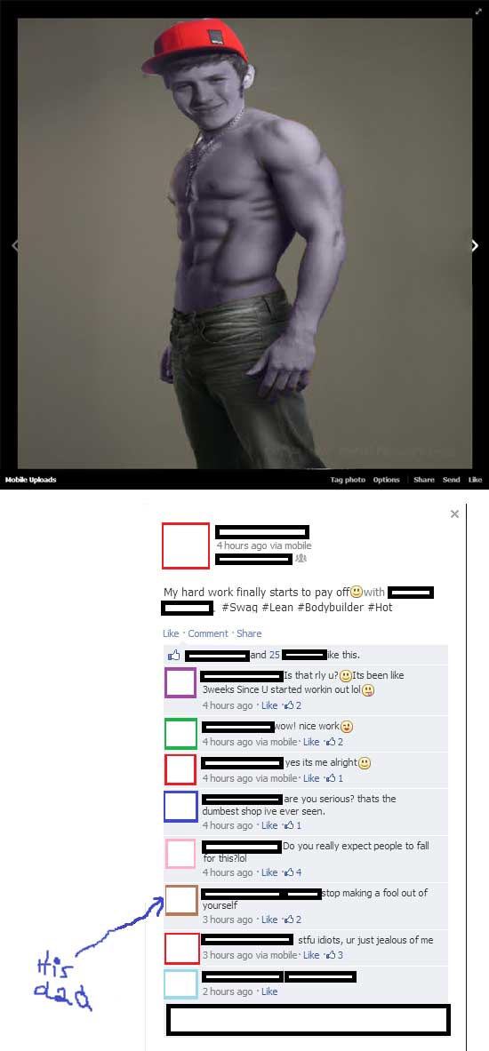 lying-on-facebook-purple-swag