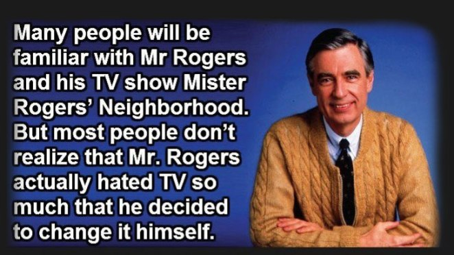If You Thought You Knew How Awesome Mr Rogers Was, Wait Until You