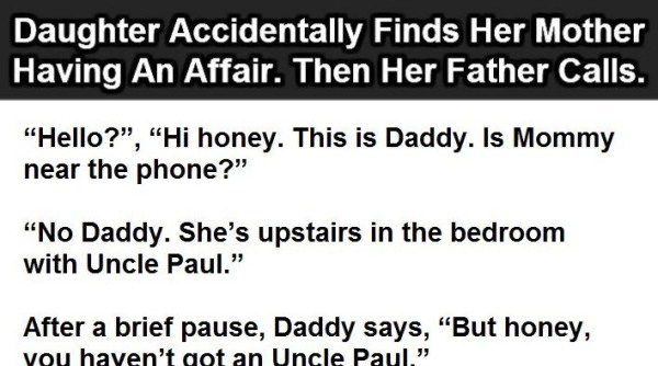 Daughter Accidentally Finds Her Mother Having An Affair