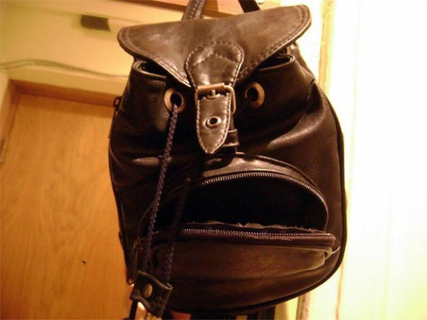 This bag is stuffed with darkness