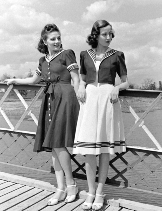 Sew Something Vintage 1940s Fashion: 51 Vintage Fashion Photos That Reveal Just How Awesome