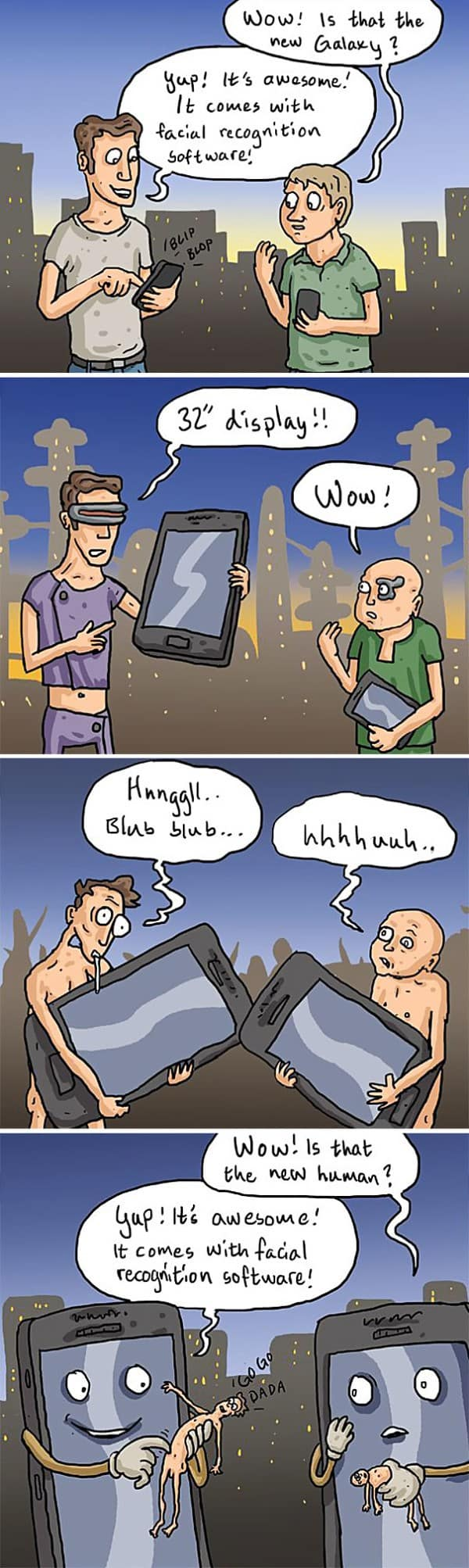 These 40 Cartoons Perfectly Illustrate How Smartphones Have Taken Over Our Lives 17