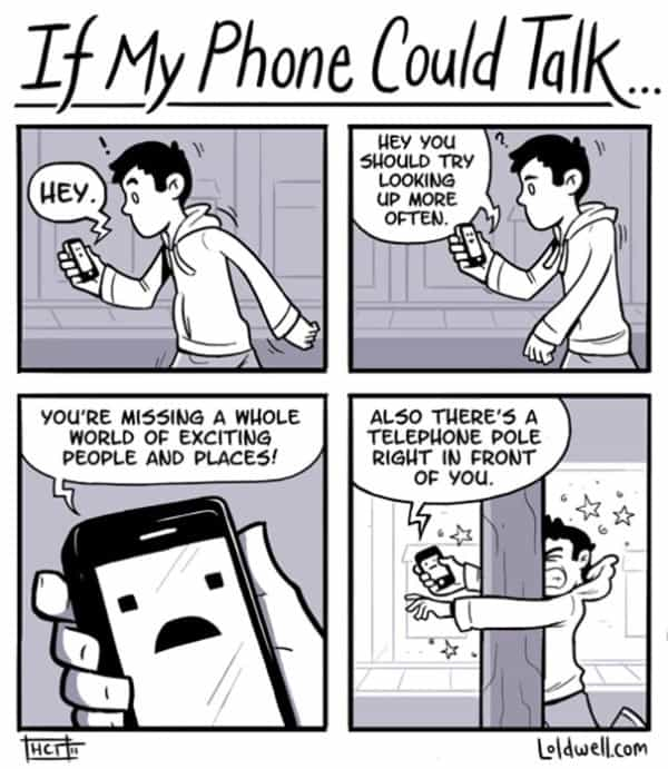 These 40 Cartoons Perfectly Illustrate How Smartphones Have Taken Over Our Lives 18