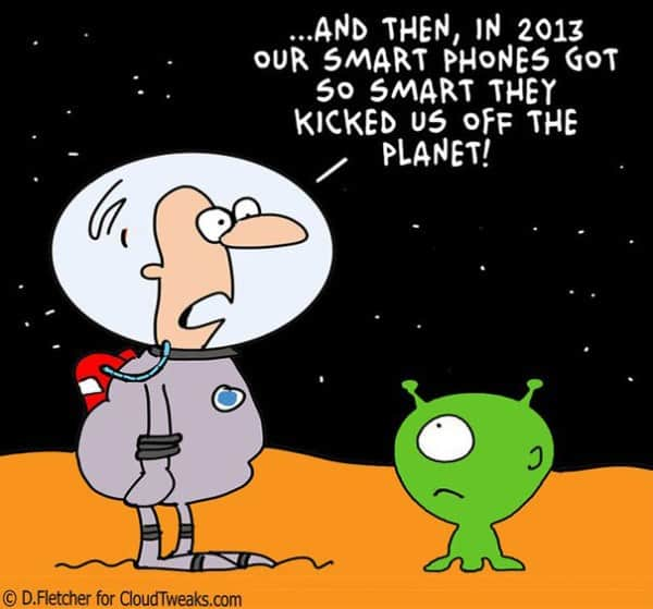 These 40 Cartoons Perfectly Illustrate How Smartphones Have Taken Over Our Lives 26