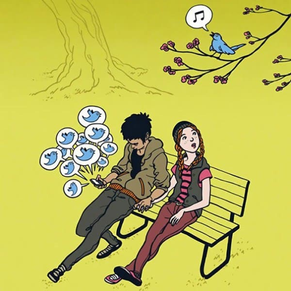 These 40 Cartoons Perfectly Illustrate How Smartphones Have Taken Over Our Lives 37