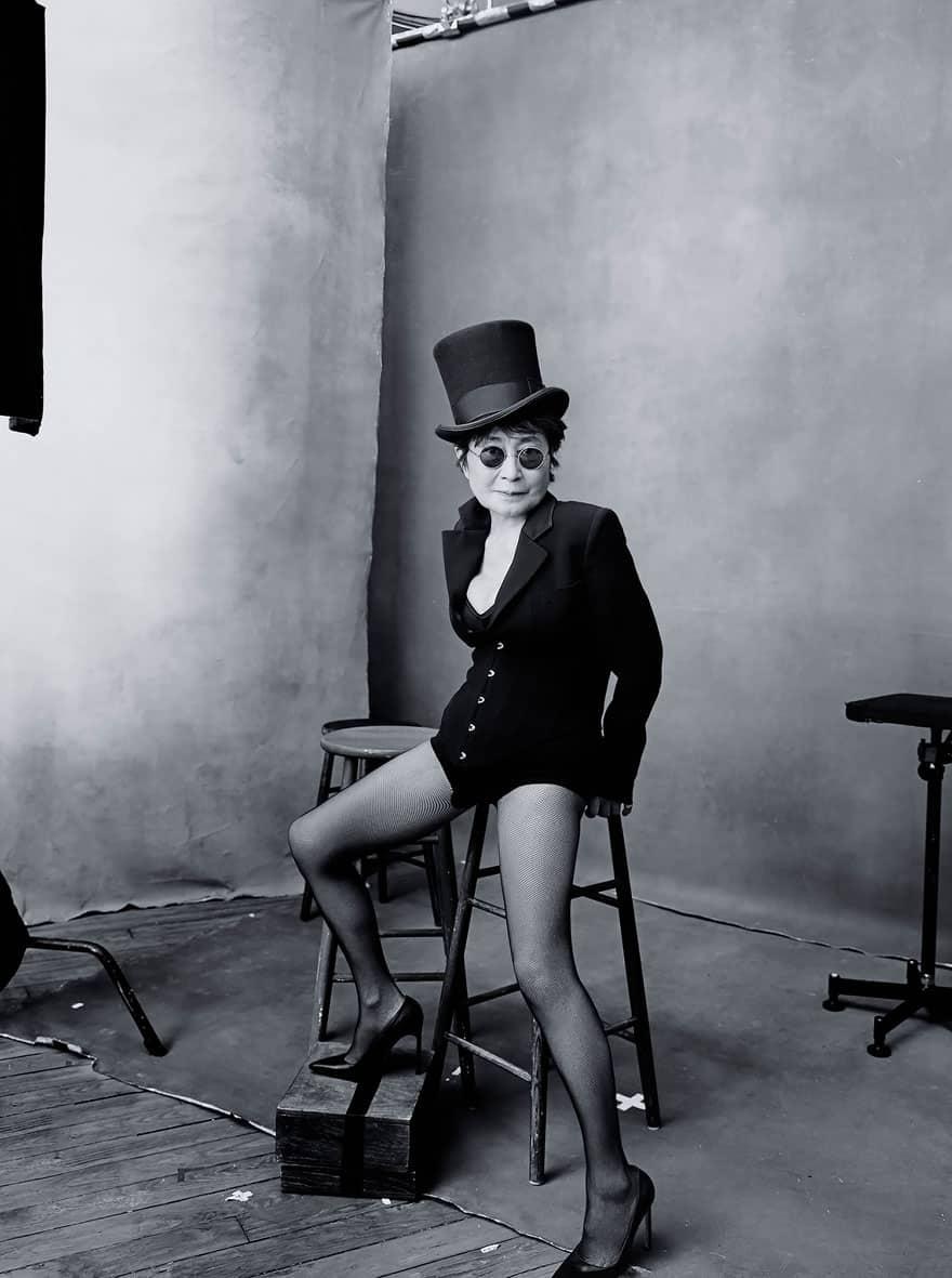 Yoko ono nude pics