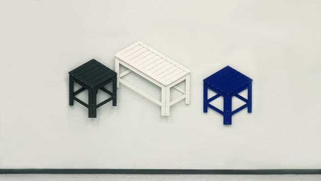 These Collapsible Chairs That Double As Wall Art Are The Answer To Your  Space Saving Needs