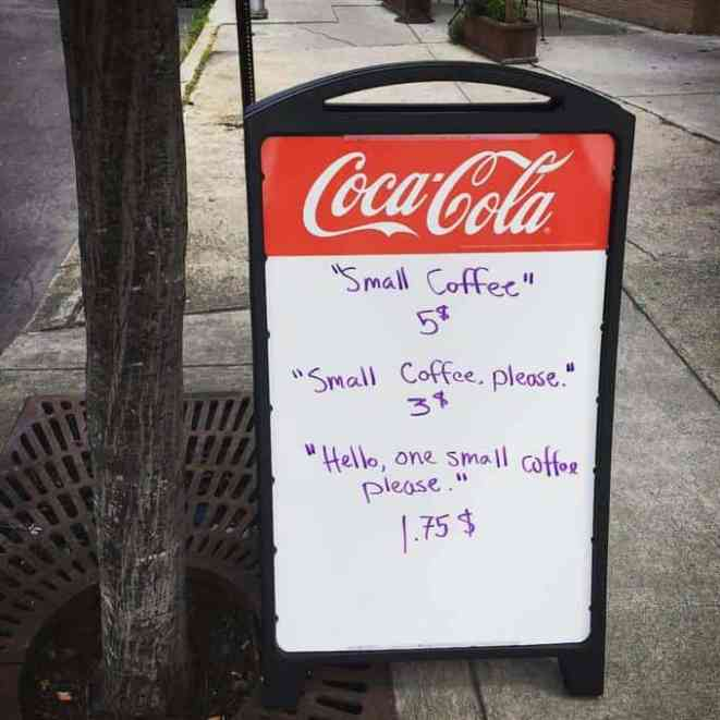 5 Homes That Prove That Less Is More: Coffee Shop Has A Genius Way To Inspire Politeness In