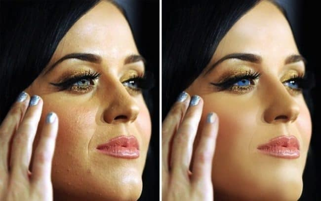 14 unbelievable images of stars before and after photoshop