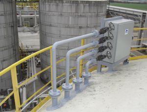 pulsair system valve cabinet