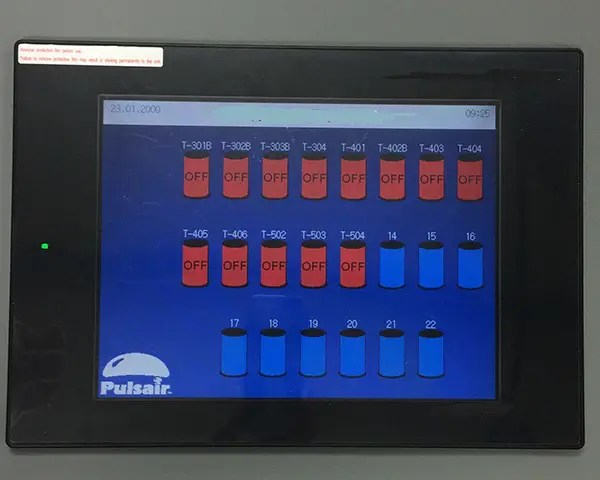 industrial multi-tank mixer controller