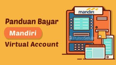 Cara Pembayaran Menggunakan Mandiri Virtual Account