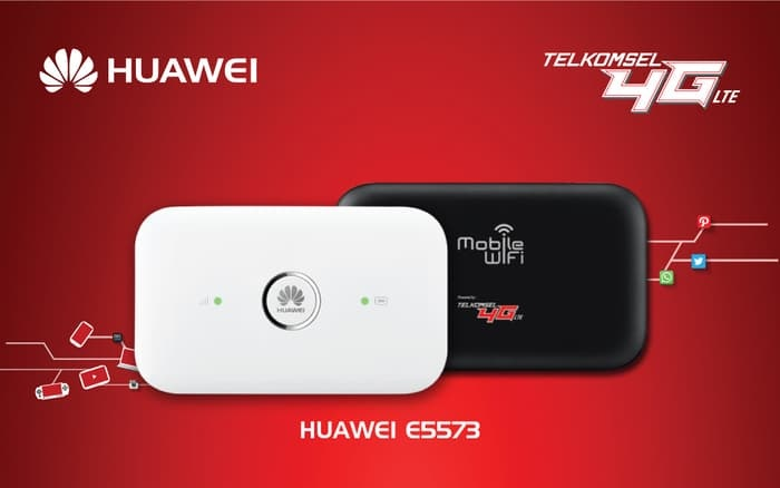 Modem Telkomsel MiFi 4G LTE Huawei E5573