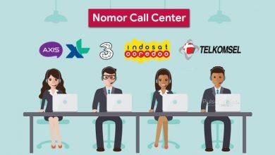 Nomor Call Center Indosat, XL, Telkomsel, Tri, AXIS