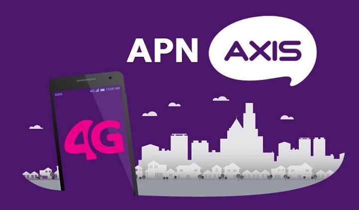 APN AXIS Tercepat 3G 4G dan Cara Setting APN AXIS