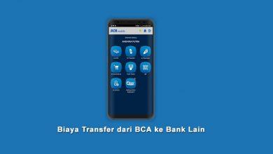 Daftar Biaya Transfer Dari BCA ke Bank BRI, BNI, Mandiri