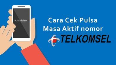 Cara Cek Pulsa Telkomsel dan Masa Aktif Nomor Telkomsel