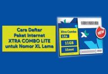 Cara Isi / Daftar Paket XL Xtra Combo Lite Di Nomor Kartu XL Lama