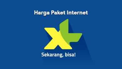 Daftar Harga Paket Internet XL