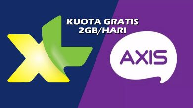 Photo of Cara Aktifkan Kuota Gratis XL dan AXIS 2GB Per Hari