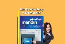 Limit Tarik Uang di ATM Bank Mandiri