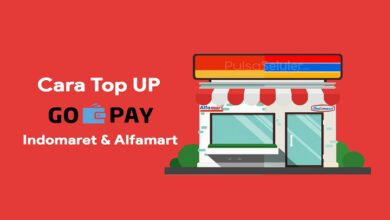 Cara Isi Top Up GOPAY di Indomaret dan Alfamart