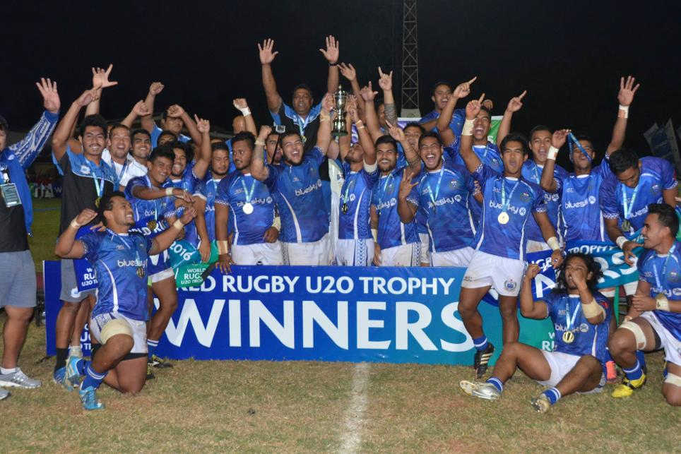 Samoa win World Rugby U20 Trophy