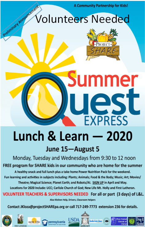 AD for Summer Quest Express