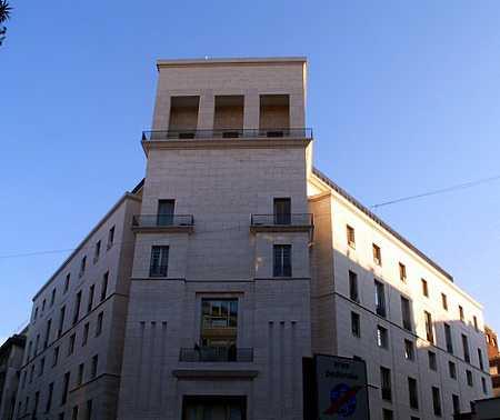 Banca Nazionale del Lavoro (1938. A. Brasini)
