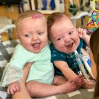 Jennifer's story of struggle and hope after twin boys born at just