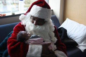 Santa and Baby - Copy