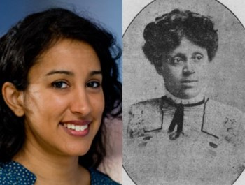 Dr. Sabreen Akhter (left) and Susie Revels Cayton (right)