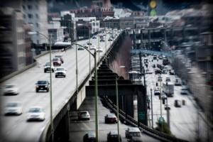 Traffic in Seattle